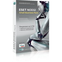 ESET NOD32 Small Business Pack 5 ПК